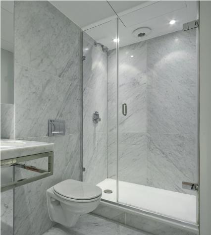 Frameless Showers Glass Designs